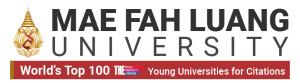 Mae Fah Luang University (MFU), Thailand